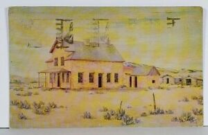 Casper Wyoming THE GOOSE EGG from Dolph Painting Postcard K17