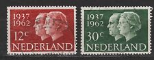 NVPH Nederland Netherlands 764 - 765 used 25 year marriage Juliana 1962 Royalty
