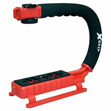 Opteka X-GRIP Action Stabilizer Handle for Digital Cameras & Camcorders (Red)