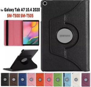 360 Rotating Stand Case For Samsung Galaxy Tab A7 10.4 T500 T505 Tablet Cover