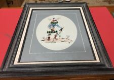 Magnificent Kachina Needlecraft Framed 23x19 Some Raised Pieces Possibly Silver