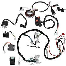 Full Electrics Wiring Harness Wire Loom For Atv Quad Cg150/200/250Cc Stator Cdi