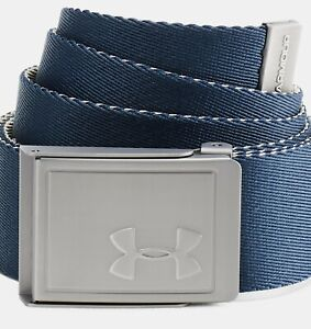 Under Armour UA Webbing 2.0 Men's Reversible Cut-to-Fit Canvas Golf Belt