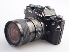 Nikon FM2N Black 35mm SLR Film Camera with 28-70mm Zoom Lens