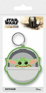 Star Wars The Mandalorian Gummi-Schlüsselanhänger The Child 6 cm