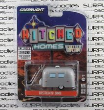 GREENLIGHT 1:64 2017 Hitched Homes Series 1 AIRSTREAM 16' BAMBI Trailer Camper