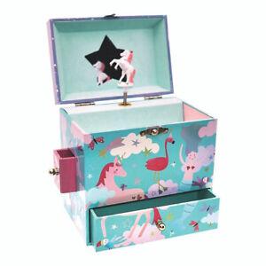 Girls Magical Fantasy Musical Jewellery Box fun happy fun girl birthday new gift