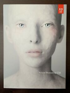 BRAND NEW SEALED Adobe Photoshop CS6 for WIN FULL Retail Version PN 65158237