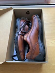 Mens Ecco Neofusion Shoes Size 9.5 (US 10-10.5, EU 44), Cognac, Boxed & Unused