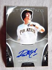 Pittsburgh Pirates Reese Mcguire 2013 Bowman Sterling Auto Card Qty.