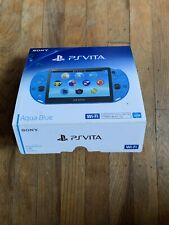 Sony PlayStation Vita Handheld System With 16 Games - Sapphire Blue