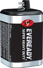 3 Pack 6 Volt Lantern Battery Eveready 1209 Heavy Duty Spring Top EXPEDITED SHIP