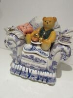 COLLECTABLE RINGTONS 'TEATIME' TEAPOT BY PAUL CARDEW. LIMITED EDITION. SUPERB!