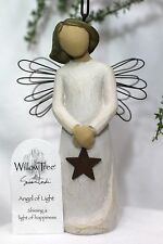 ANGEL of Light ornament STAR hanging WILLOW Baby Shower wedding Graduation GIFT
