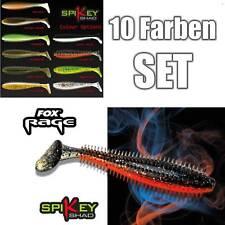 20 Teile Fox Rage Zander SPIKEY SHAD 9 cm im 10 Farben SET