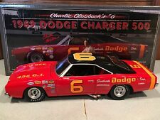 Autographed University of Racing 1969 Charlie Glotzbach Dodge Charger 500 1/24