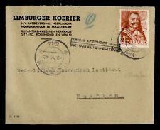 DR WHO 1944 NETHERLANDS TO HAARLEM RTS INCONNU  f60082