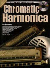PROGRESSIVE CHROMATIC HARMONICA Beginners + CD*