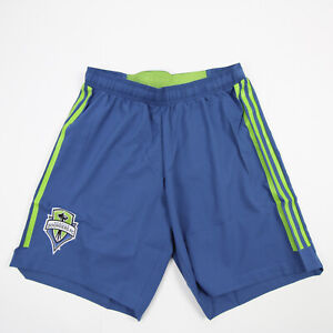 Seattle Sounders FC adidas Climalite Athletic Shorts Men's Blue New with Tags