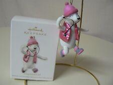Hallmark Ornament 2012 ONE COOL GIRL NEW Snowgirl Music Pink