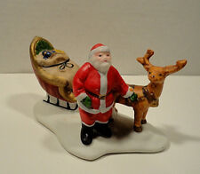 Lemax Village Collection Christmas Santa And His Sleigh Figurine