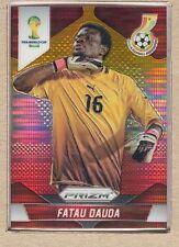 Fatau Dauda 94 2014 Panini Prizm World Cup Yellow and Red Pulsar