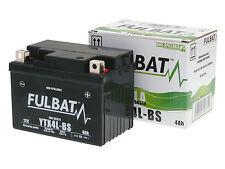 Batterie Fulbat YTX4L-BS MF Wartungsfrei 12V 3AH für Motorrad Roller