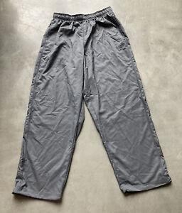 Nike Dri Fit Sweat Pants Men's Size XL Gray Black