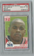 2004 Big 33 Ohio All Stars Ted Ginn RC PSA 10 Ohio St. Buckeyes CAR Panthers