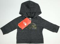 NWT The North Face Hoodie Full Zip Gray Hooded Sweatshirt Infant Size 0-3M