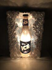 Huge Miller Ice Blinking Light Sign Store Display 3D Big Beer Bar Cave Rare