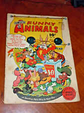 FUNNY ANIMALS #36 (FAWCETT 1946) VG- (3.5) cond. CPT. MARVEL BUNNY