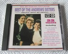 The Andrews Sisters - The Best Of - Scarce 1994 Cd Album