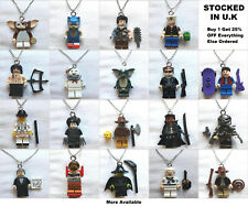 Movie Film Minifigure Pendant Jewellery Chucky Freddy Krueger Predator Necklace