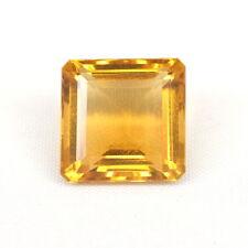99,10 ct gelb Citrin  Smaragdschliff lose Edelstein Kostenloser Versand B103