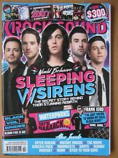 Rocksound October 2017 Sleeping with Sirens Andy Biersack Seaway Makeout Iero