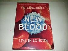 DVD GABRIEL PETER New Blood Live in London