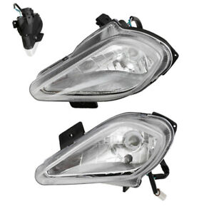 Motorcycle Front Bulb Headlamp Night Light Quad Dirt Bike For 150cc-250cc ATV
