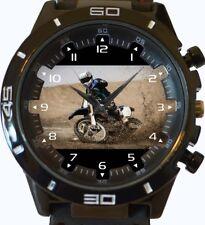 Reloj de Pulsera campeón de carreras Dirt Bike Nueva serie de deportes de moda Unisex Regalo