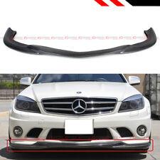 For 08-11 Benz W204 C63 AMG Godhand Style Carbon Fiber Front Bumper Lip Splitter