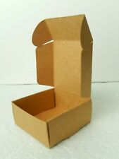 "25 pcs Small Kraft Paper Wedding Favor Gift Box 2.63"" x 2.63"" x 1.19"""