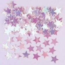 Iridescent Star Confetti  Wedding Anniversary Birthday Party Table Decoration