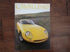VINTAGE CAVALLINO FERRARI MAGAZINE NUMBER 40 August 1987 275 GTB Cover