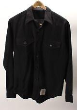 Vintage Men's Black Long sleeve Navy Shirt Size Medium Large