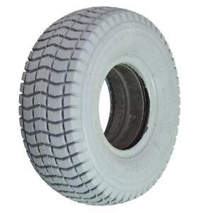 9x3.50-4 Kenda Gray Non Marking 4 Ply Turf Tire & Tube Wheelchair Scooter