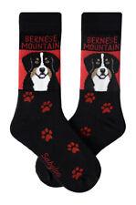 Bernese Mountain Dog Crew Socks Unisex
