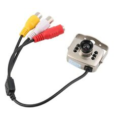 IR Wired CCTV Mini Camera Security Color Night Vision Infrared Video Recorder GA