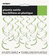 Decoración de plástico de color principal verde para fiestas