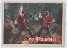 1957 Topps Robin Hood #10 Flashing Swords Non-Sports Card 0s4