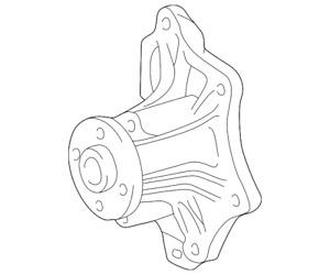 Genuine Toyota Engine Water Pump 16100-28041